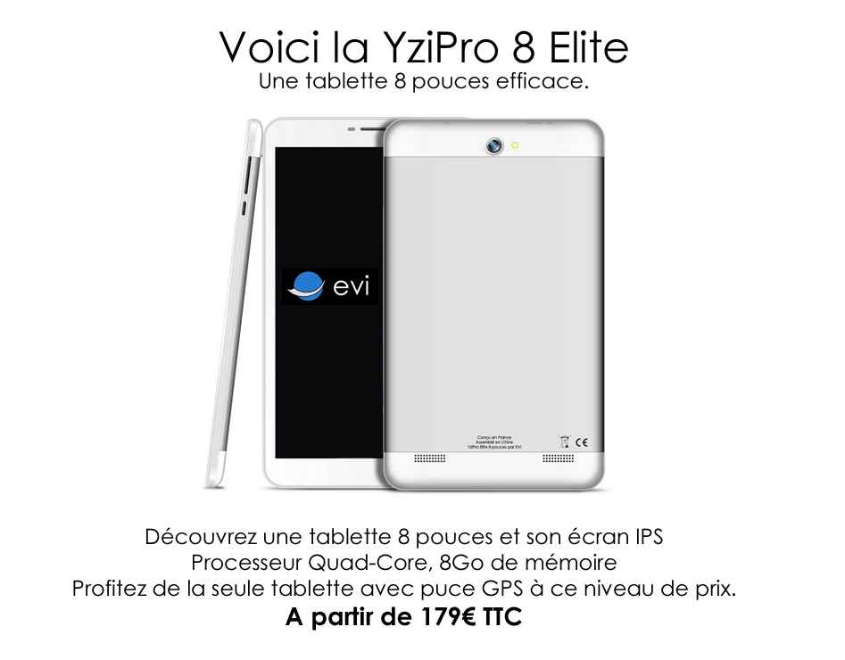 d couvrez yzipro 8 elite la tablette 8 pouces android petit prix. Black Bedroom Furniture Sets. Home Design Ideas